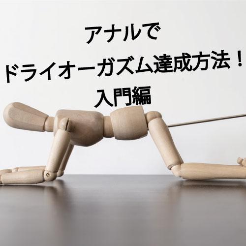 快感倶楽部 アナルドライオーガズム