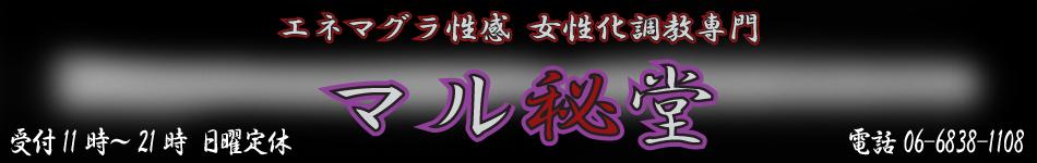 大阪M性感 エネマグラ 女性化調教 ドライオーガズム専門「マル秘堂」